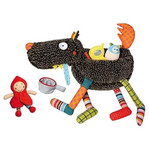 Купить Набор мягких игрушек Ebulobo Волк-обжора 37 см, Мягкие игрушки