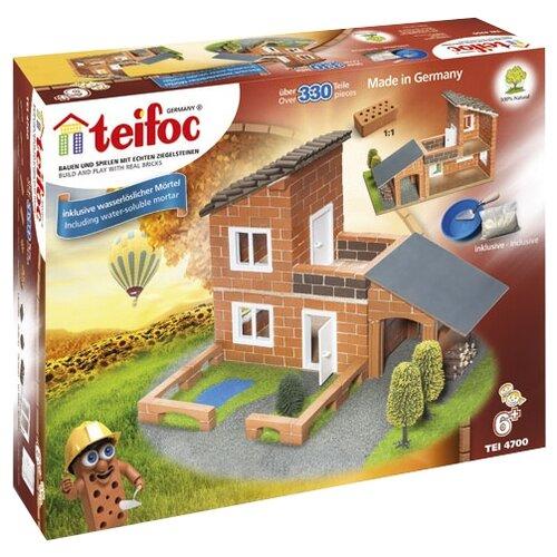 Фото - Конструктор TEIFOC Profi TEI4700 Вилла с гаражом конструктор teifoc classics tei9010 цветник