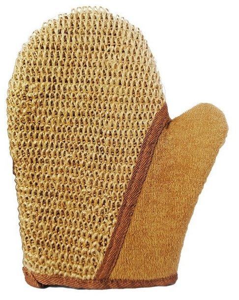 Мочалка Beauty format рукавица крупного плетения из джута (58707-7239)