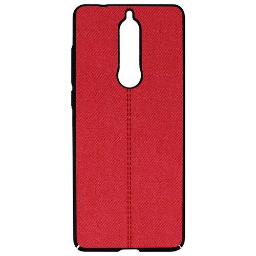 Чехол Volare Rosso Jeans для Nokia 5.1 (2018) красный