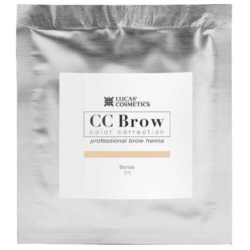CC Brow Хна для бровей в саше 5 г blonde хна для бровей cc brow cc brow cc003lwxzk04