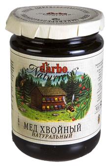 Мёд DARBO Хвойный, стекло 500 г