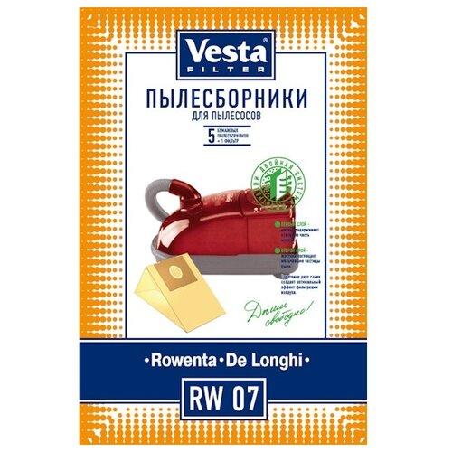 Vesta filter Бумажные пылесборники RW 07 5 шт. vesta filter rw 02 комплект пылесборников 5 шт