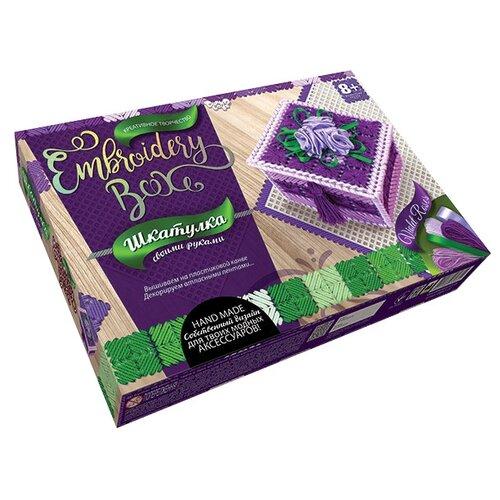 Купить Danko Toys Набор для вышивания Embroidery Box Шкатулка Набор 3 (EMB-01-03), Наборы для вышивания