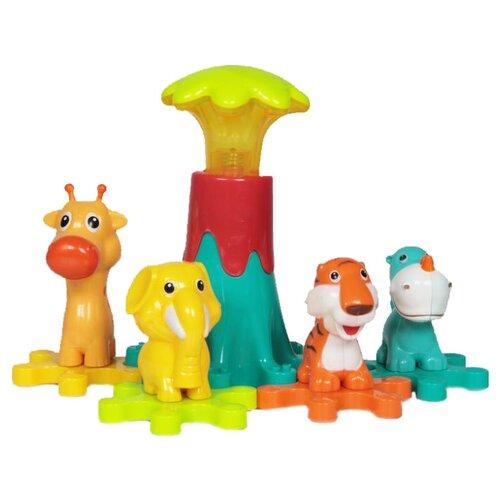 Интерактивная развивающая игрушка Baby Care Зоопарк (BC1004) разноцветный, Развивающие игрушки  - купить со скидкой
