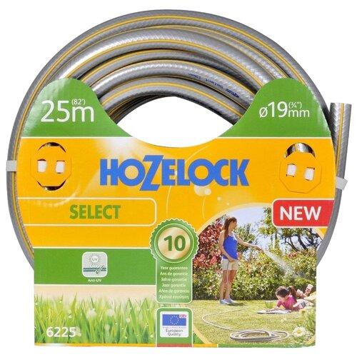 "Шланг HOZELOCK Select 3/4"" 25 метров серый/желтый"