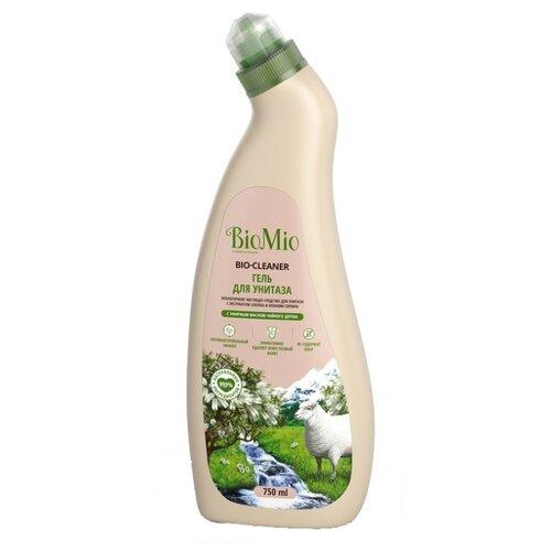 BioMio Гель для унитаза Чайное дерево 0.75 л 1 шт.Для кафеля, сантехники и труб<br>
