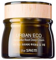 The Saem Urban Eco Harakeke Root Deep Cream Глубоко увлажняющий крем для лица с экстрактом новозеландского льна