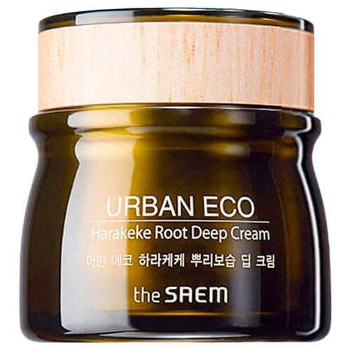 The Saem Urban Eco Harakeke Root Deep Cream Глубоко увлажняющий крем для лица с экстрактом новозеландского льна 60 млУвлажнение и питание<br>