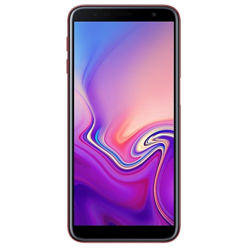 Смартфон Samsung Galaxy J6+ (2018) 32GB красный (SM-J610FZRNSER) смартфон samsung galaxy j4 2018 sm j415 3 32gb gold