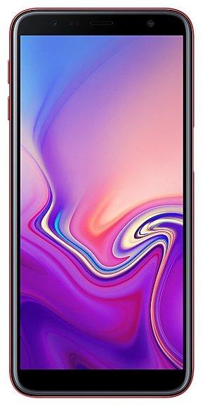 Смартфон Samsung Galaxy J6+ (2018) 32GB красный (SM-J610FZRNSER)