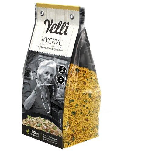 Yelli Кускус с ароматными травами 250 г habibi пюре кускус с цыпленком и овощами 100 г