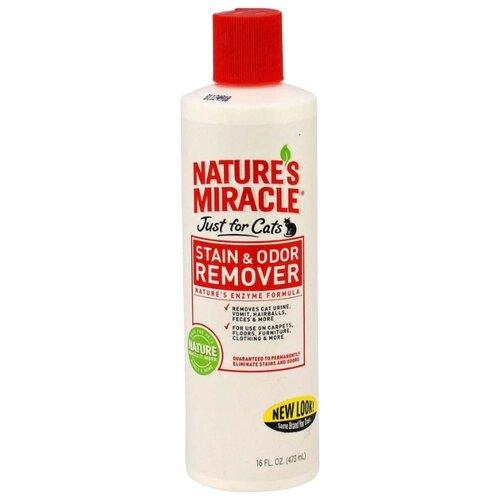 Моющее средство 8 In 1 уничтожитель пятен и запахов от кошек Stain & Odor Remover 473 мл
