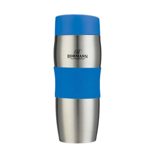 Термокружка Bohmann ВН-4456, 0.375 л синий