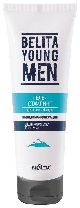 Витэкс BELITA YOUNG MEN гель-стайлинг Невидимая фиксация для волос и бороды