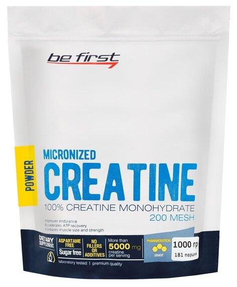 Креатин Be First Micronized Creatine Monohydrate Powder (1000 г)