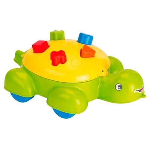 Каталка-игрушка Dolu Turtle Shape Sorter (6016) зеленый
