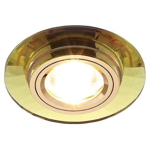 Встраиваемый светильник Ambrella light 8160 GOLD, золото