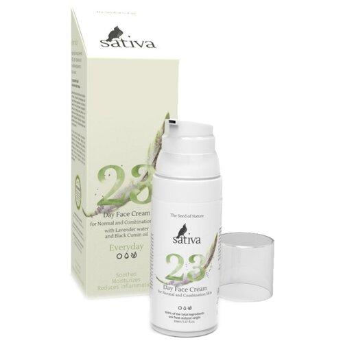 Купить Sativa Everyday №23 Крем для лица дневной для нормальной и комбинированной кожи, 50 мл