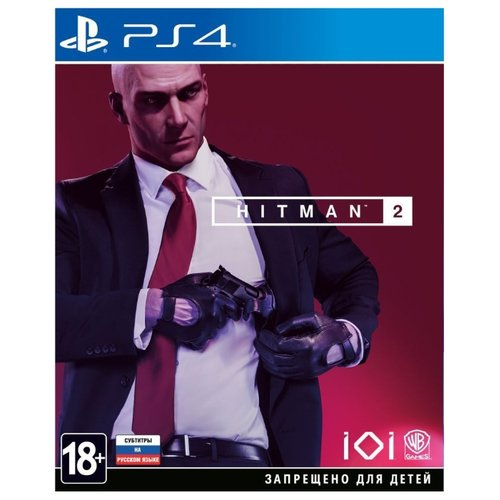 Игра для PlayStation 4 Hitman 2