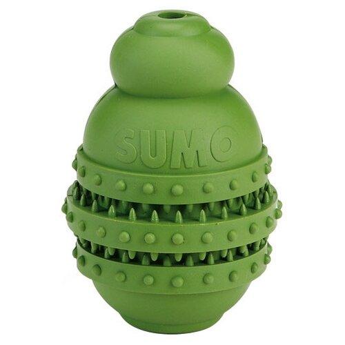 Игрушка для собак Beeztees Sumo Play Dental для зубов S зеленый