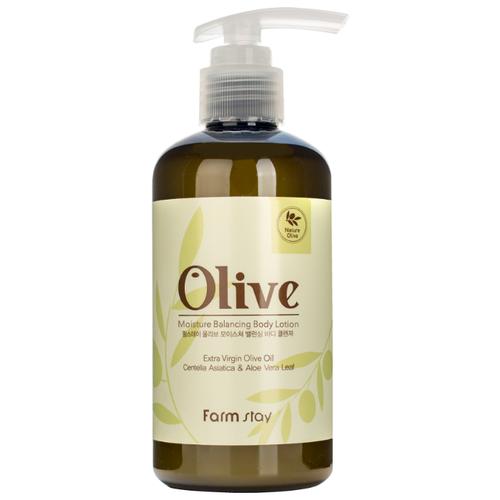 Лосьон для тела Farmstay Olive Moisture Balancing Body Lotion, 250 мл масло для тела dalan d olive oil olive body butter 250 мл
