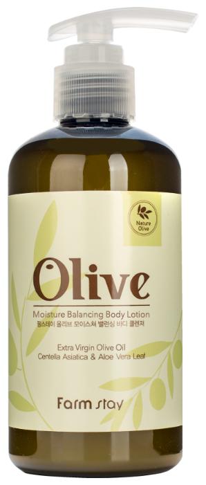 Лосьон для тела Farmstay Olive Moisture Balancing