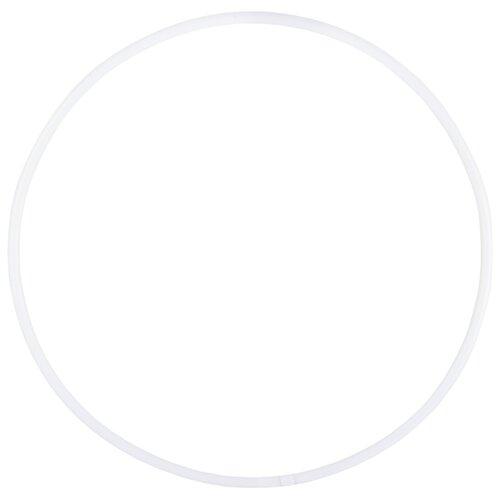 Гимнастический обруч Amely AGO-101 65см белый обруч гимнастический zso стандарт d16 мм цветной
