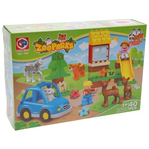 Конструктор Kids home toys Zooparks 188-194 конструктор kids home toys happy farm 188 133