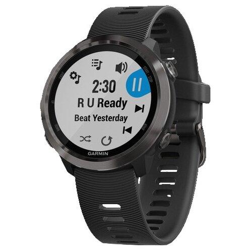 цена на Часы Garmin Forerunner 645 Music серый/черный