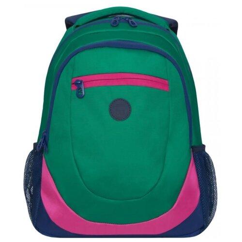 Рюкзак Grizzly RD-953-1 14 зеленый/синий