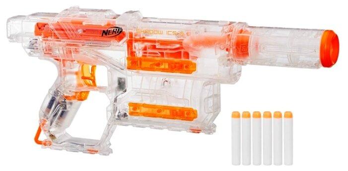 Бластер Nerf N-Strike Modulus Shadow ICS-6 (E2655)