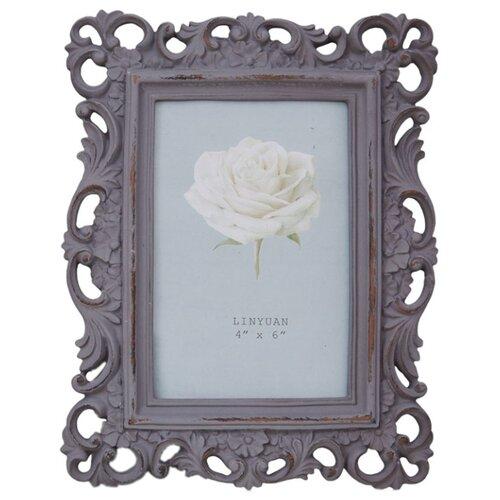 Фоторамка Home Philosophy Langley 9x13 см серо-розовый