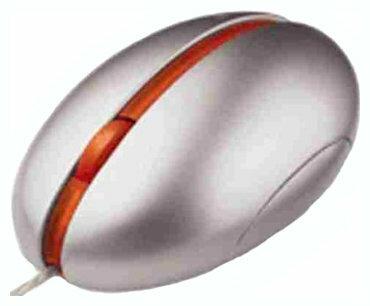 Мышь Microsoft Optical Mouse by S arck Orange USB