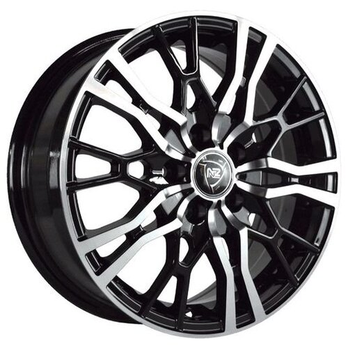 Фото - Колесный диск NZ Wheels SH658 5.5x14/4x98 D58.6 ET35 BKF колесный диск nz wheels sh658 6 5x16 5x114 3 d67 1 et38