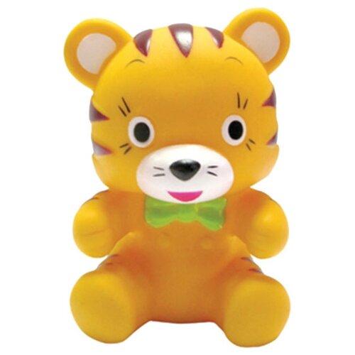 Купить Игрушка для ванной Пома Тигренок (5619) желтый/зеленый, Игрушки для ванной