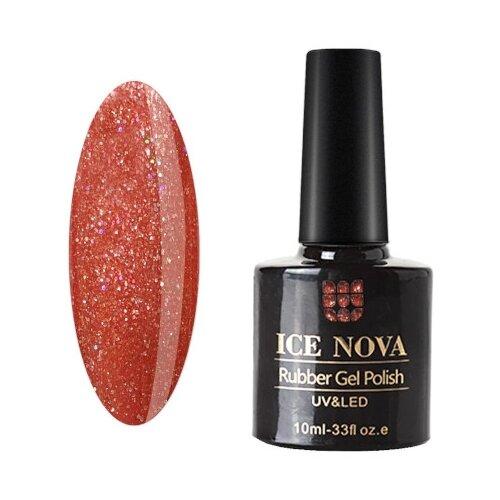 Купить Гель-лак для ногтей ICE NOVA Rubber Gel Polish, 10 мл, 009