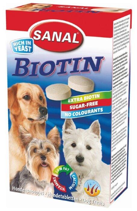 Добавка в корм Sanal Biotin для собак