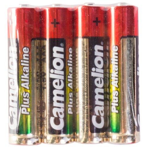 Батарейка Camelion Plus Alkaline AAA 4 шт пленка батарейка camelion green series aaa 4 шт блистер