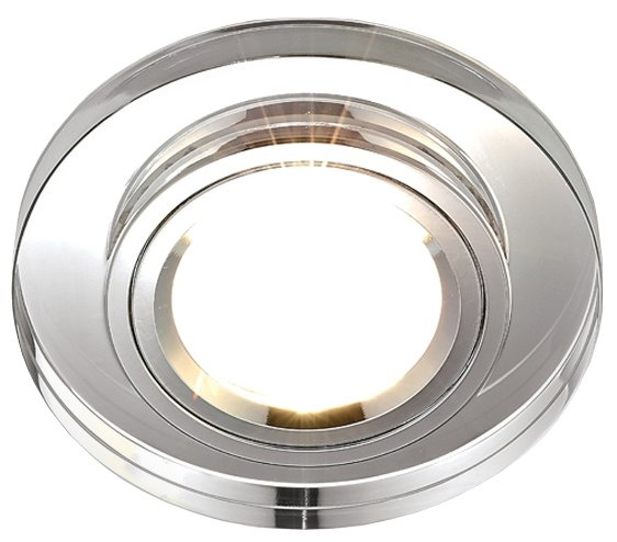 Встраиваемый светильник Ambrella light 8060 CL, хром