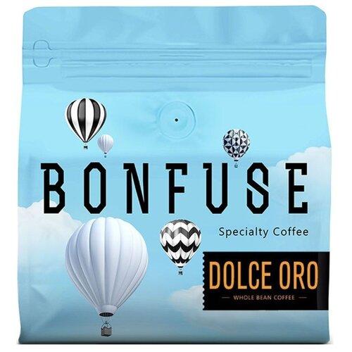 Кофе в зернах Bonfuse Dolce Oro, арабика, 250 г кофе в зернах bonfuse asia арабика 250 г