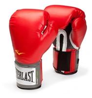 Боксерские перчатки Everlast PU Pro style anti-MB black 12 oz