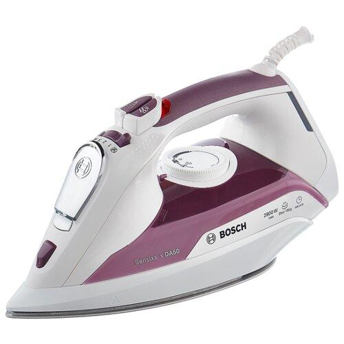 Фото - Утюг Bosch TDA 5028110 фиолетовый/белый утюг bosch tda5028020 2800вт белый фиолетовый