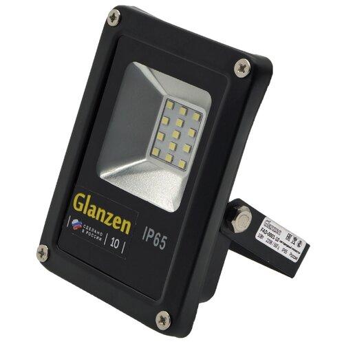 Прожектор светодиодный 10 Вт Glanzen FAD-0001-10
