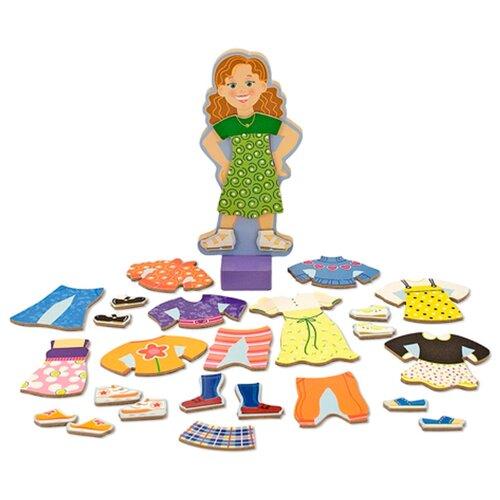 Игровой набор Melissa & Doug Maggie Leigh Magnetic Dress-Up Set 3552MИгровые наборы и фигурки<br>