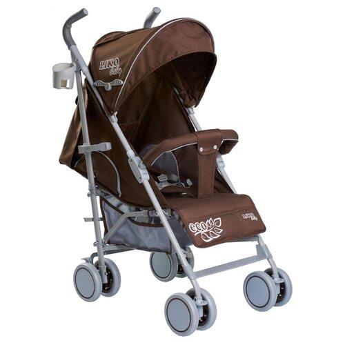 Купить Прогулочная коляска Liko Baby BT-109 City Style ECO коричневый, Коляски