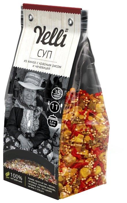 Yelli Суп из киноа с красным рисом и чечевицей 250 г