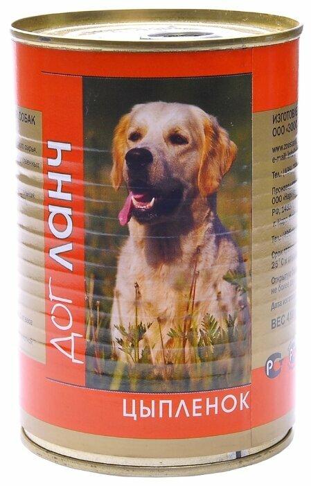 Корм для собак Dog Lunch (0.41 кг) 1 шт. Цыпленок в желе для собак