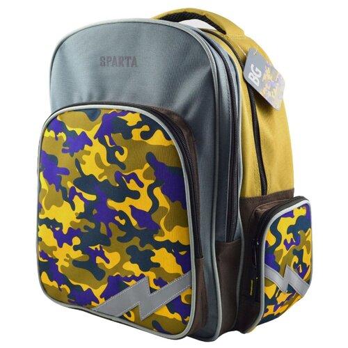 BG Рюкзак Scout SPARTA SBS 4280 желтый/серый/черныйРюкзаки, ранцы<br>