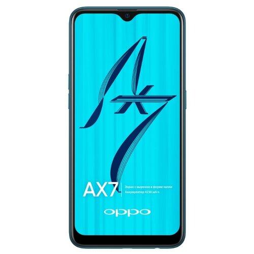 Смартфон OPPO AX7 3/64GB морская волна